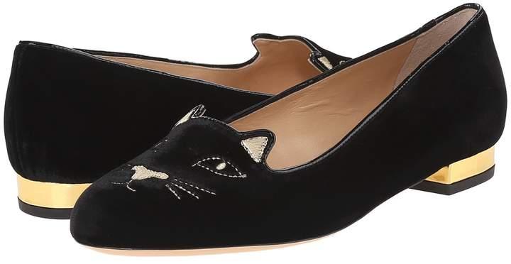 Charlotte Olympia Kitty Flats Women's Flat Shoes