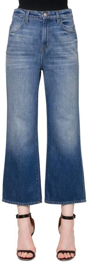 J Brand High Rise Joan Wide Leg Denim Jeans