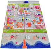 Twin House 3-D Play Mat