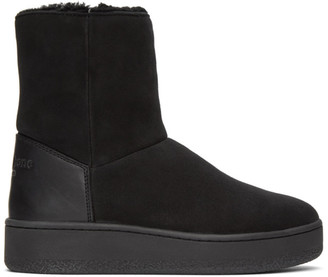 Rag & Bone Black Shearling Oslo Boots