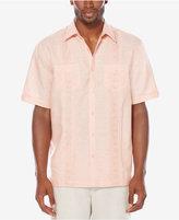 Cubavera Men's Raised-Panel Embroidered Shirt