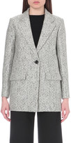 Maje Lorie wool-blend coat