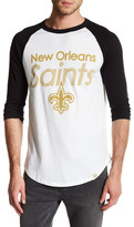Junk Food Clothing New Orleans Saints Baseball Tee