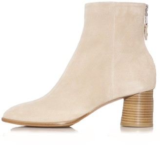 Rag And Bone Shoes Fleur Suede Boots in Stone Beige
