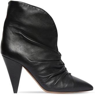 Isabel Marant 90mm Lasteen Leather Ankle Boots