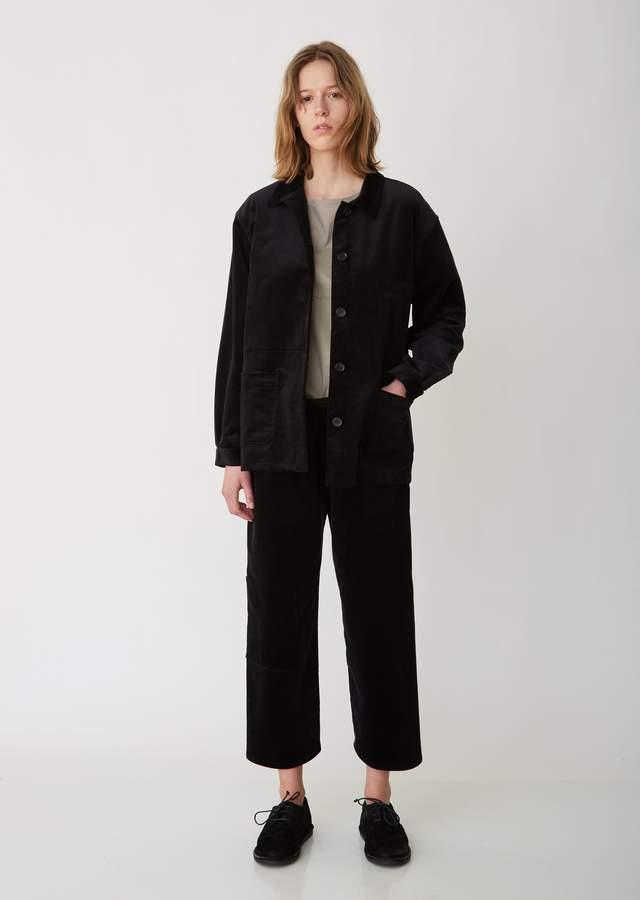 La Garçonne Moderne Corduroy Work Jacket