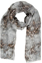 Maje Modal Leopard Shawl