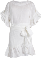 Etoile Isabel Marant Delicia ruffled linen mini dress