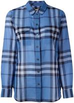 Burberry 'House Check' shirt - women - Cotton - S