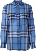 Burberry 'House Check' shirt - women - Cotton - XS