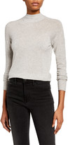 Vince Seamless Funnel-Neck Pullover Sweater