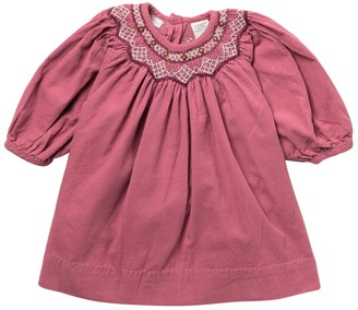 Carriage Boutique Embroidered Bishop Dress (Baby Girls)