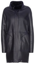 Loro Piana Cornell Reversible Shearling And Leather Coat