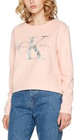Calvin Klein Jeans Women's Harper True Icon Log Sweatshirt