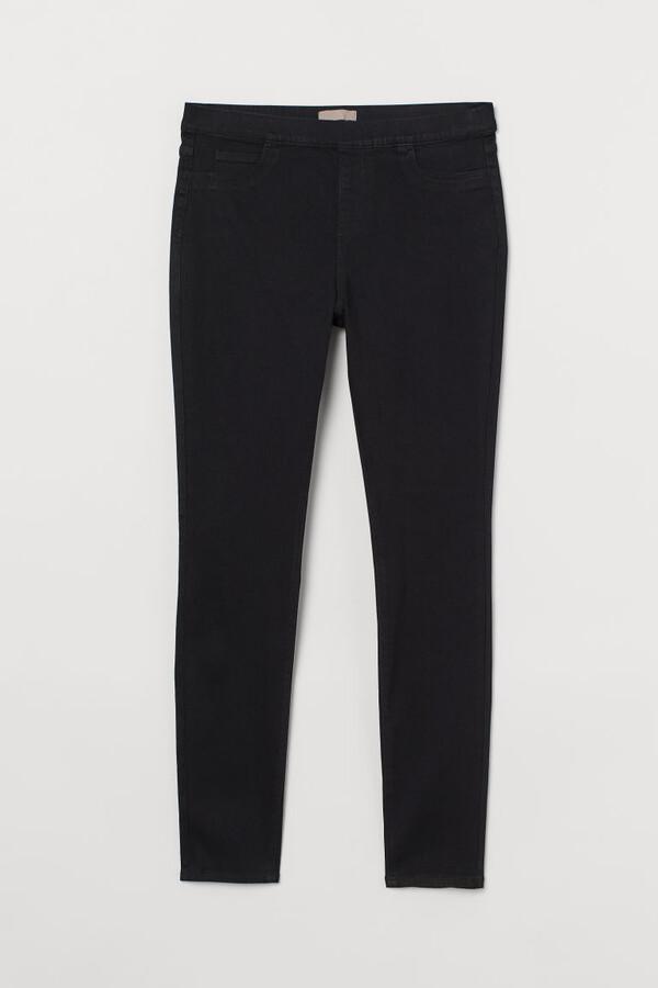 H&M H&M+ Skinny Fit Treggings - Black