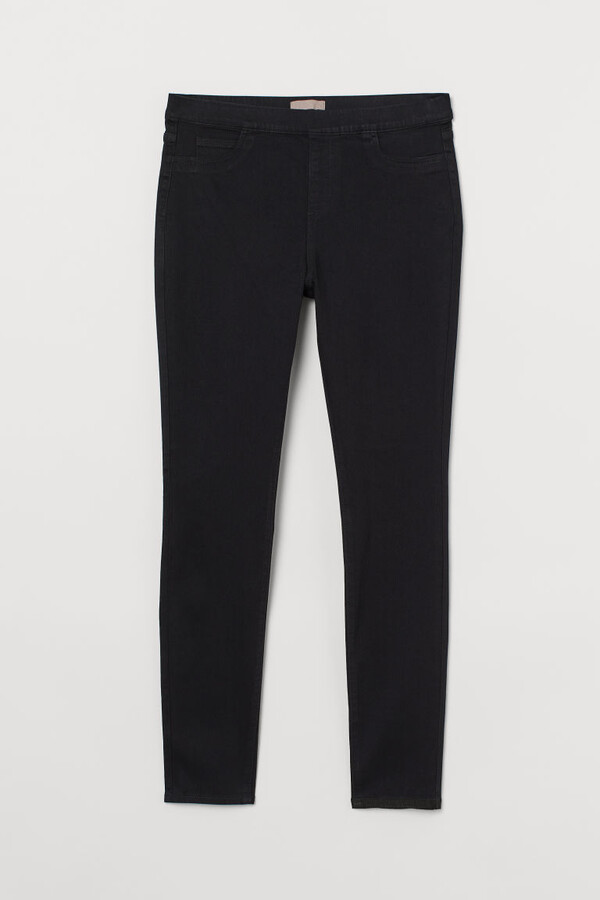 H&M H&M+ Skinny Regular Jeggings - Black