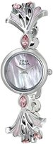 Titan Women's 2543SM01 Raga Garden of Eden Analog Display Quartz Silver Watch