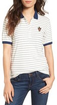 Obey Women's Athena Stripe Polo