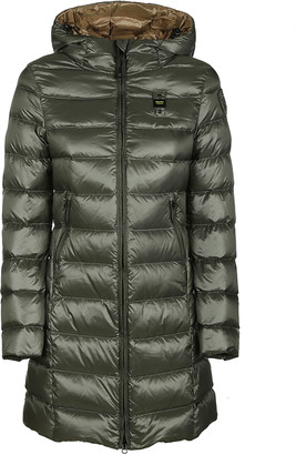 Blauer Logo Chest Patch Padded Jacket