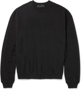 Haider Ackermann - Oversized Loopback Cotton-jersey Sweatshirt
