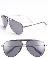 Tommy Hilfiger 62mm Polarized Aviator Sunglasses