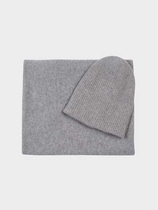 White + Warren Cashmere Beanie + Scarf Bundle