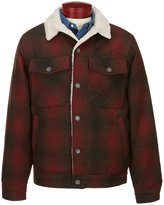 Billabong Barlow Wool Blend Plaid Jacket