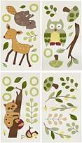 Lambs & Ivy Lambs And Ivy Enchanted Forest Wall Appliques, Green