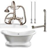 "Cambridge Plumbing 68"" L x 29"" W Bathtub"
