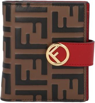 Fendi F Is Compact Bifold Wallet