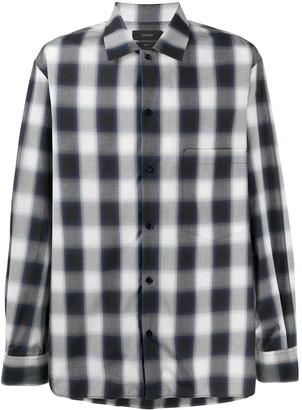 Joseph Azzedine check print shirt