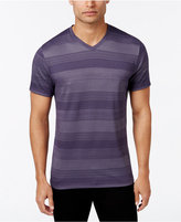 Alfani Men's Stripe V-Neck T-Shirt, Only at Macy's, Slim Fit, Only at Macy's
