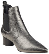 KENDALL + KYLIE Logan Slip-On Leather Ankle Boots