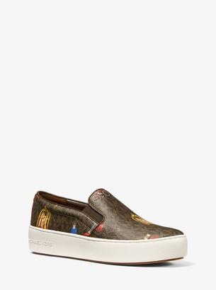 MICHAEL Michael Kors Trent Jet Set Girls Slip-On Sneaker