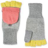 Stella McCartney grey boone gloves