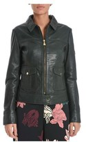 Roy Rogers Roy Roger's Women's Green Leather Outerwear Jacket.