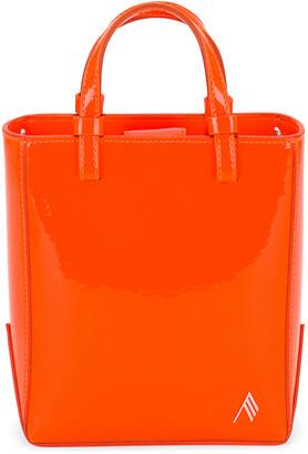 ATTICO Mini Shopping Bag in Orange Fluo | FWRD