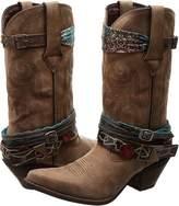 Durango Crush 12 Accessorize w/ Removable Straps Cowboy Boots