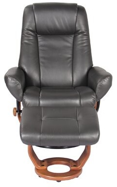 Leather Recliner And Ottoman ShopStyle
