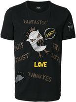 Fendi appliqué T-shirt