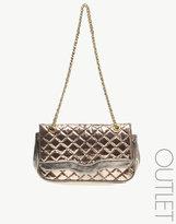 Metallic Clutch And Shoulder Bag