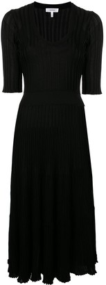 Casasola Knitted Scoop Neck Dress