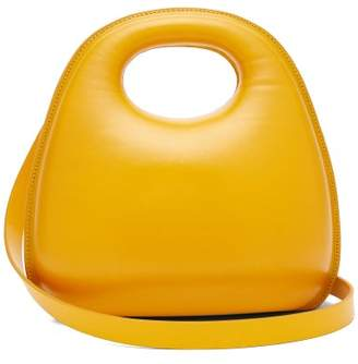 Lemaire Egg Smooth Leather Bag - Womens - Yellow