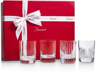 Baccarat 4 Elements Double Old Fashioned Glass, Set of 4