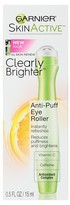Garnier Skinactive Clearly Brighter Anti-Puff Eye Roller .5 Fl Oz
