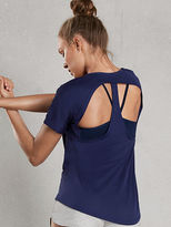 Victoria Sport Cut-out Racerback Tee