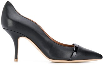 Malone Souliers Maybelle 70 leather pumps