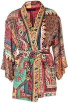 Etro Multi Pattern Belted Jacket