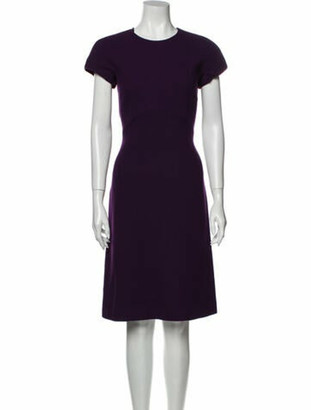 Bottega Veneta Virgin Wool Knee-Length Dress Wool