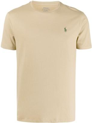 Polo Ralph Lauren logo patch short-sleeved T-shirt